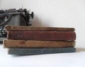 Four Antique Text Books 1897-1930