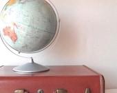Vintage Luggage Samsonite Brown Suitcase