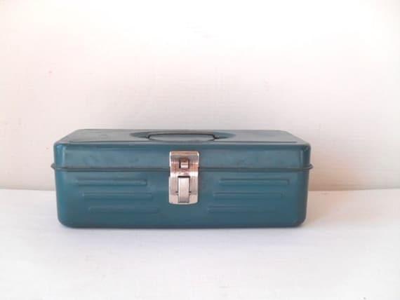 Vintage Blue Toolbox