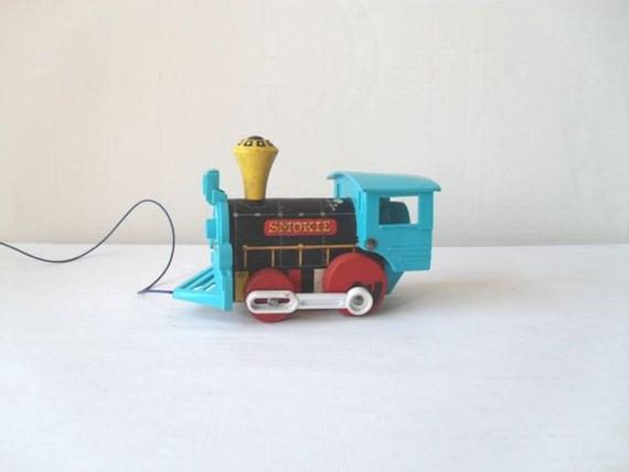 Vintage Fisher Price Toy Train Smokie