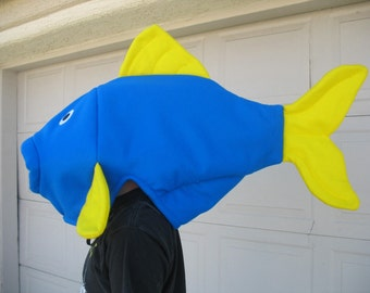 Blue Fish Costume One Size