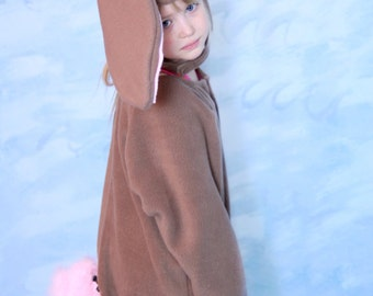 Brown Bunny Costume -size 3/4