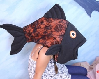 Halloween Fish Costume-one size fits all
