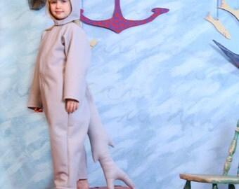 Shark Costume-size 3/4T