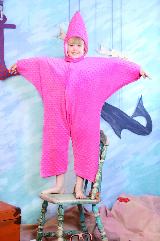 Starfish costume 4 thru 8 for Fish costume diy