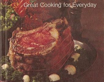 COUNTRY Cookbook - FARM JOURNAL - Hardback Vintage Cooking Recipes Book - 1971 edition good condition