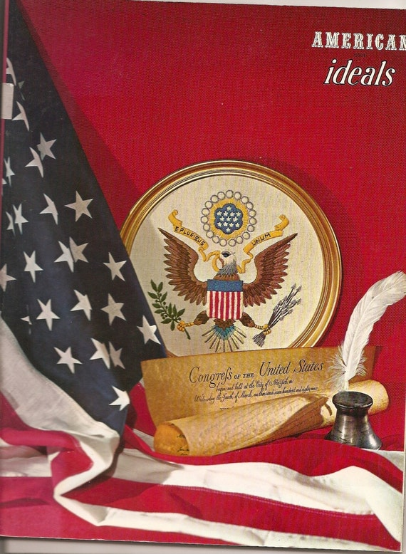 AMERICAN Ideals Magazine MAY 1970 Edition Flags by ...