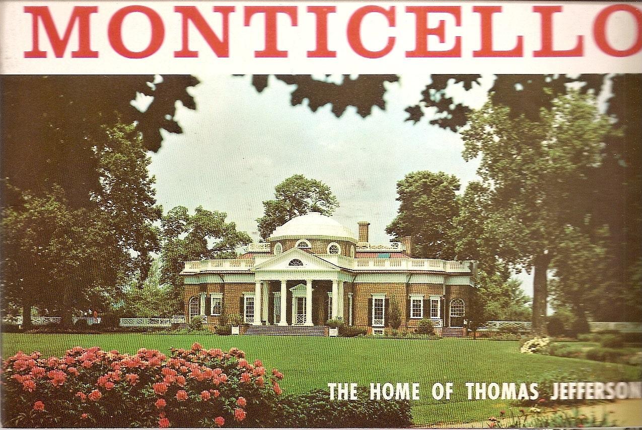 vintage Booklet Thomas Jefferson MONTICELLO by nancesnostalgia