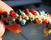 CUSTOM Indian Corn Beaded Bracelet