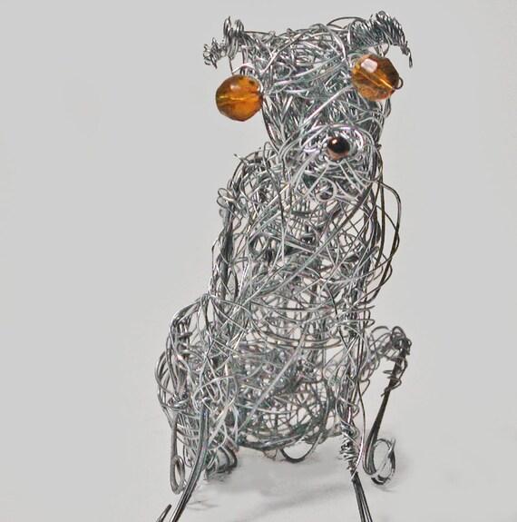SALE-Metal Greyhound Dog Sculpture