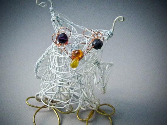 Owl Wire Sculpture
