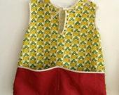 Sample sale - Toddler Smock - Vintage look 2T