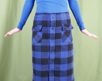 Handmade lumberjackie skirt...