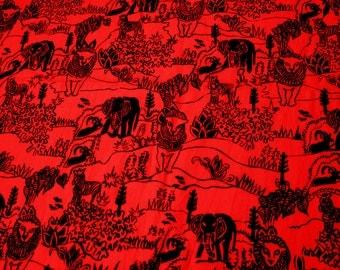 4.5 yards VTG African fabric: Maridadi Kenya