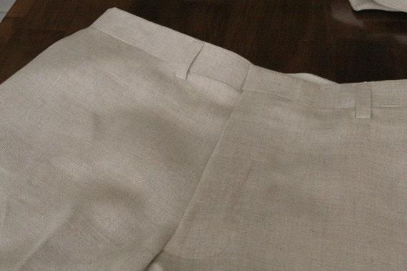 Adult  dress pants linen