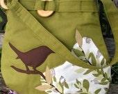 Bird on a Limb shoulder bag