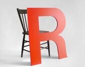 Wood Letters R - Wall Hanging, Nursery, Wedding, Baby Name