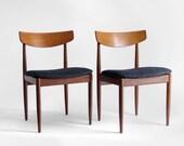 ON HOLD - Vintage Danish Teak Chairs - Mid Century, Modern, Dining, Retro, Eames, Ib Kofod Larsen