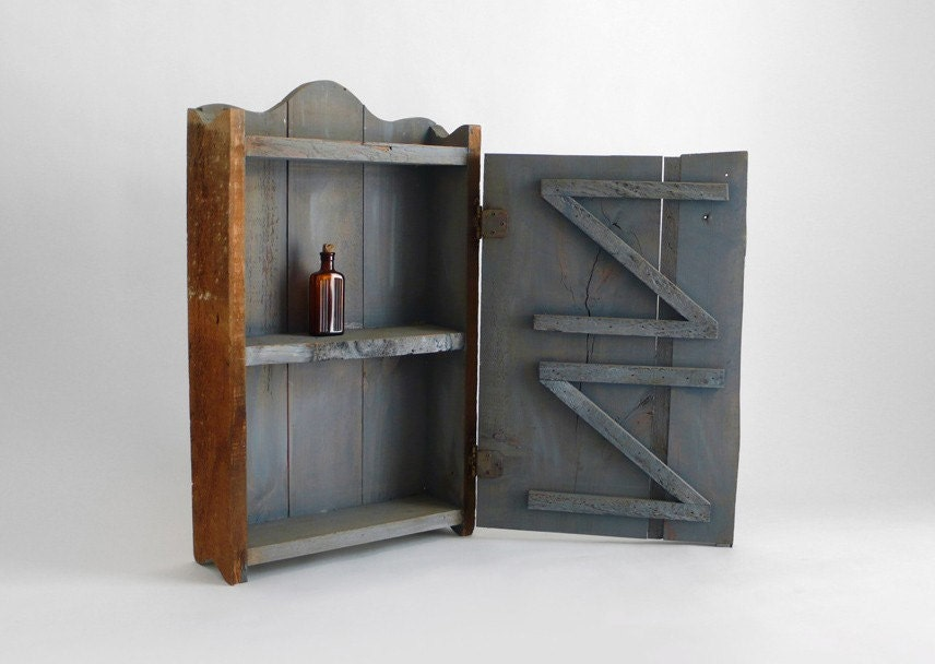 Items similar to rustic medicine cabinet on etsy