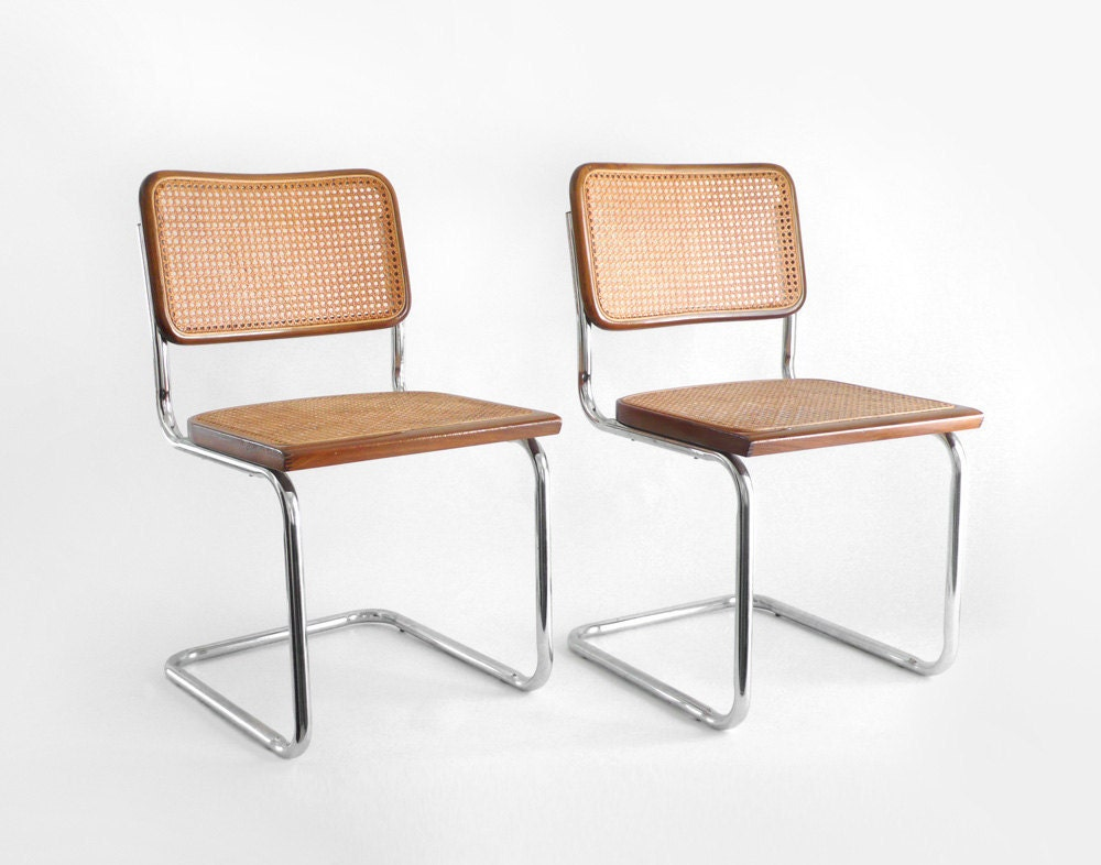 Items similar to Vintage Mid Century Chairs - Dining ...