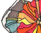 giclee print, daffodil drawing 3, botanica series