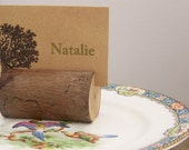 Rustic Woodland Log Place Card Holders Set of 20