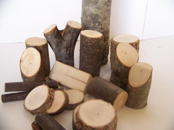 Old School Nature Tree Blocks