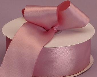 ON SALE  5/8 Inch Rose Mauve Ribbon