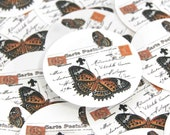 Stickers Envelope Seals Butterfly SES76