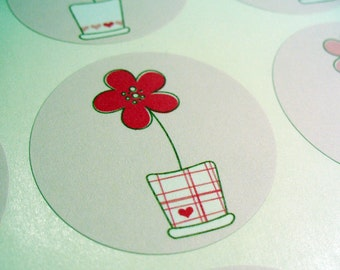 Stickers Envelope Seals Planning Stickers SES3