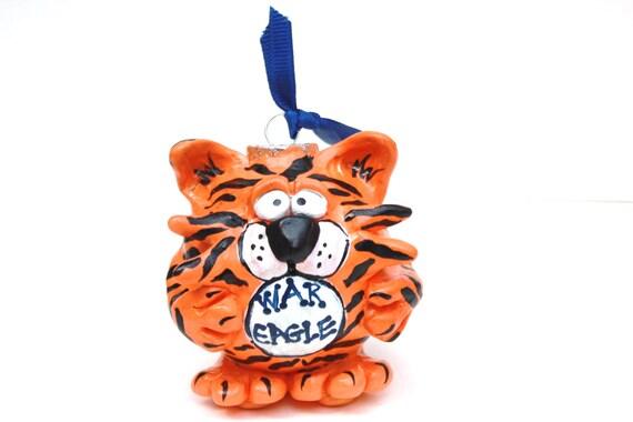 Auburn Football Fan Ornament for