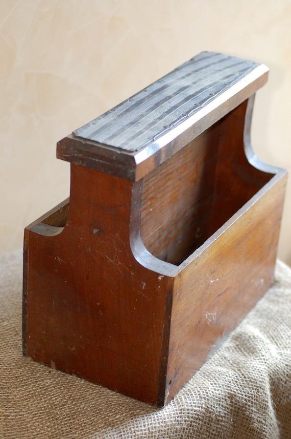 Antique Shoe Shine Box For Sale