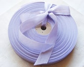 Vintage 1930's-40's French Woven Ribbon -Milliners Stock- 5/8 inch Lilac