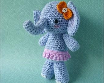 Special Price - PDF Crochet Pattern - Elen