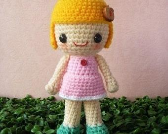 PDF Crochet Pattern - Sagwa