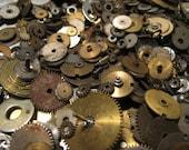 50 Gram Wheel & Cog Lot Steampunk Destash