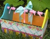 Garden or Childrens Toy Carry Box
