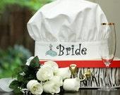 Blushing Bride Chef Hat