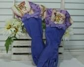 Dish Washing Gloves, Vintage Grapes