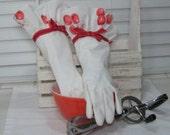 Dish Washing Spring Cleaning Gloves, Sweet Cherries