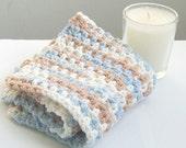 Crochet Washcloth, Cotton Washcloth, Crochet Facecloth, Cotton Washcloth, Dishcloth, Cleansing Cloth