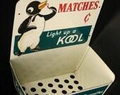 Too Kool-kool cigarettes match display rack