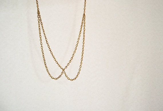 Peter pan - chain collar necklace