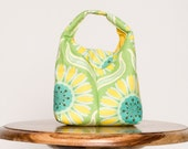 Insulated Lunch Bag Eco Friendly - Pop Garden Daisy