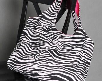 Tote Bag Original - Poppin' Pink Zebra