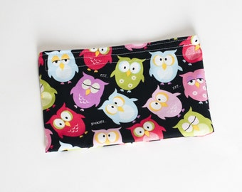 Eco Friendly Snack Bag - Cute Owls
