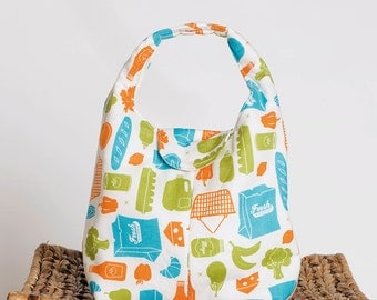 Insulated Lunch Bag Eco Friendly - Food