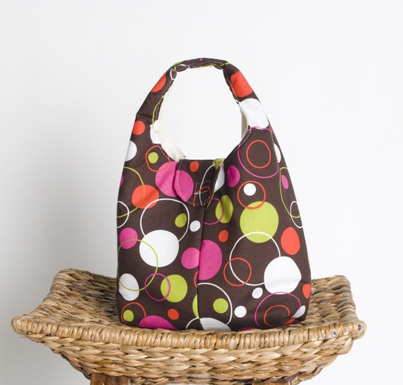 Eco Friendly Insulated Lunch Bag - Hoopla Dot