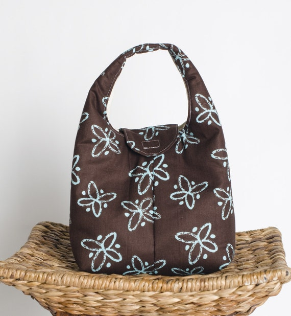 Insulated Lunch Bag - Butterflies On Chocolate