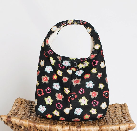SALE - Lunch Bag Insulated - Fun Flowers LAST ONE